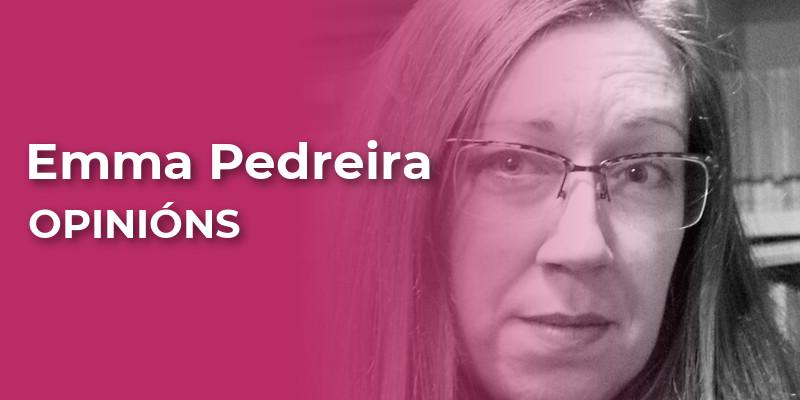 Emma Pedreira, colaboradora na sección OPINIÓNS de adiante.gal