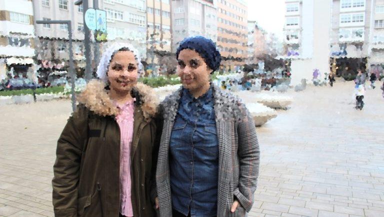 Nour e Zhour dúas irmás sirias que fuxiron da guerra e recomezan a vida en Galiza.