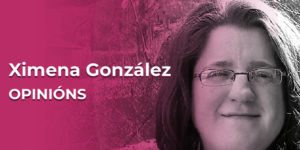 Ximena González, co-editora de adiante.gal e activista feminista.