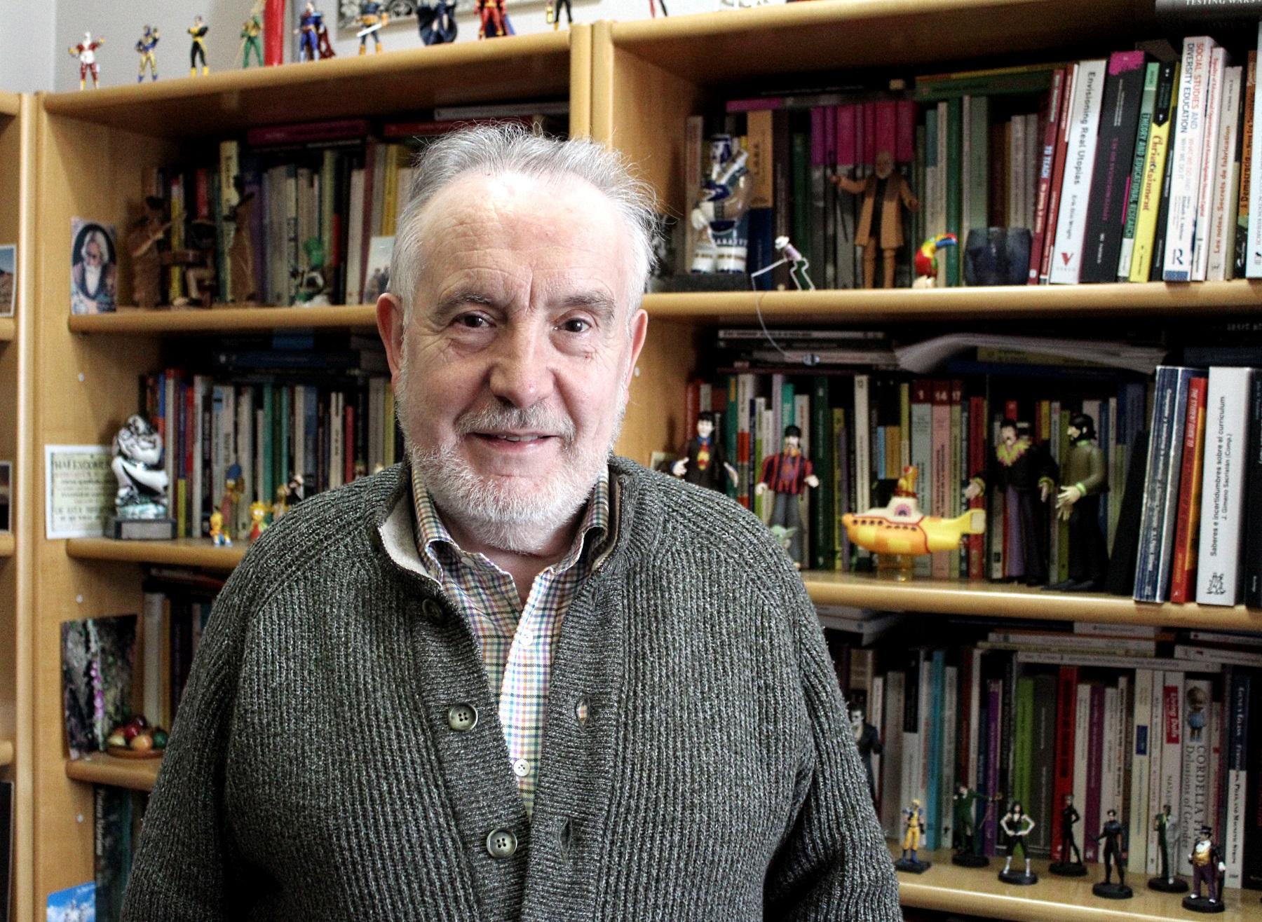 Jurjo Torres Santomé, catedrático de Didáctica e Organización Escolar.