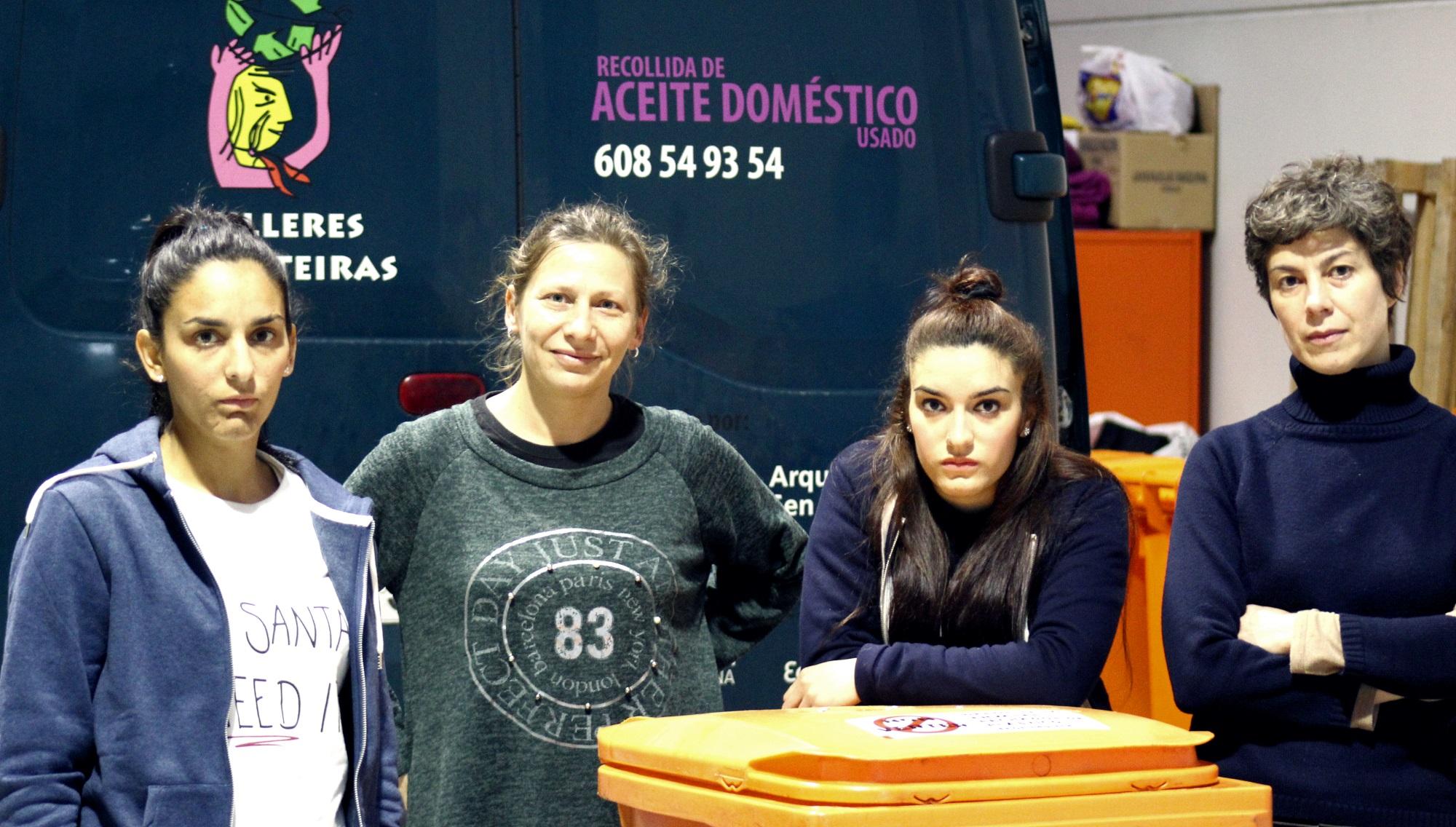 Reportaxe de Beti Vázquez sobre a cooperativa Mulleres Colleiteiras na Coruña.