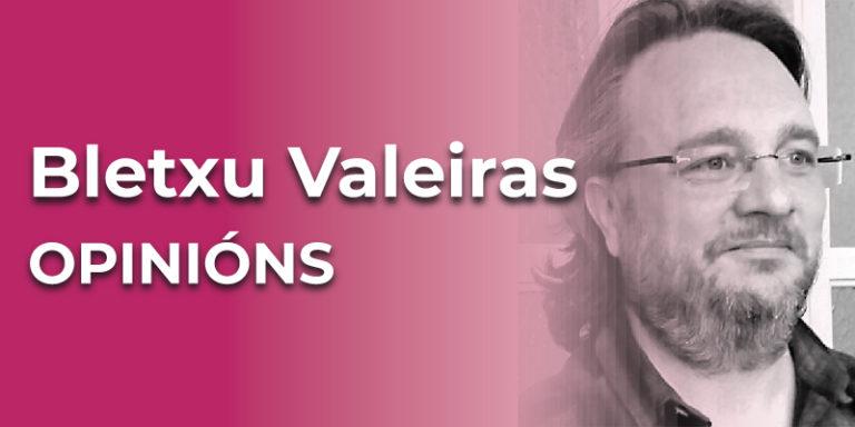 Bletxu Valeiras, secretario de Esculca e activista
