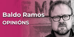 Baldo Ramos (Celanova, 1971). Poeta e artista plástico.