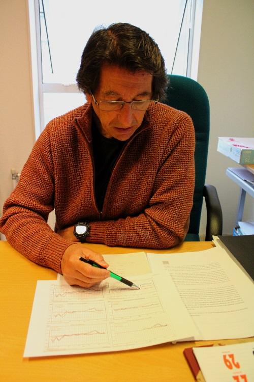 Diego López de Lera, sociólogo. Profesor na Facultade de Socioloxía da UDC.