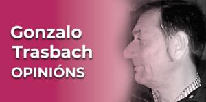 Licenciado en Filosofía e diplomado en Educación Básica (mestre) pola Universidade de Santiago. Gonzalo Trasbach.