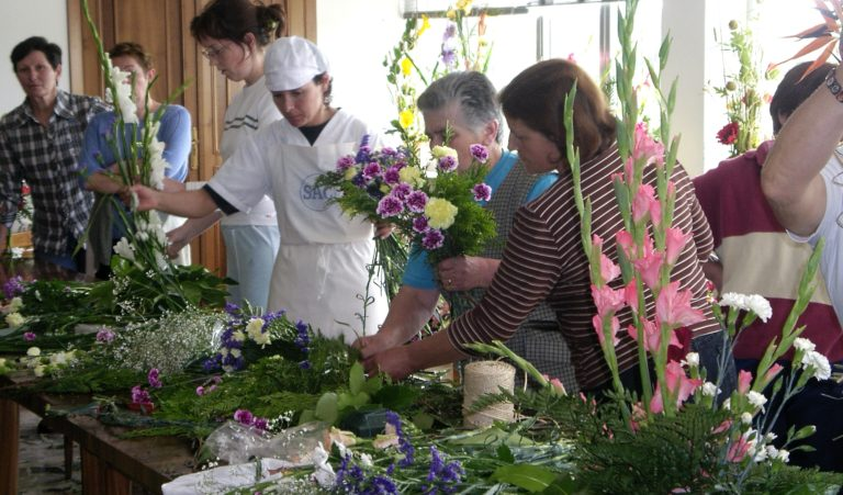Campo da Capela, cooperativa agroalimentaria da zona do Eume, que está a punto de cumprir 50 anos.