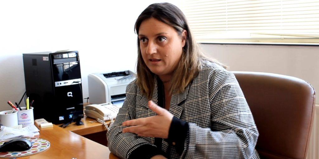 Montserrat Golías, doutora en Socioloxía e profesora na Facultade de Socioloxía da UDC e membro do ESOMI.