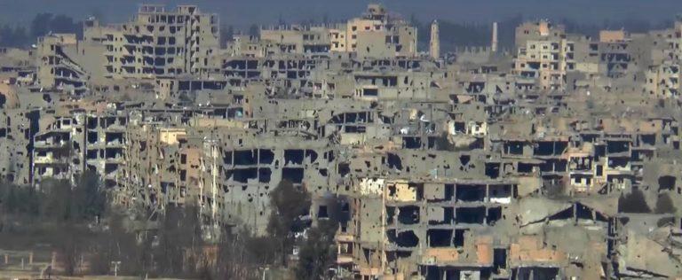 A guerra en Siria