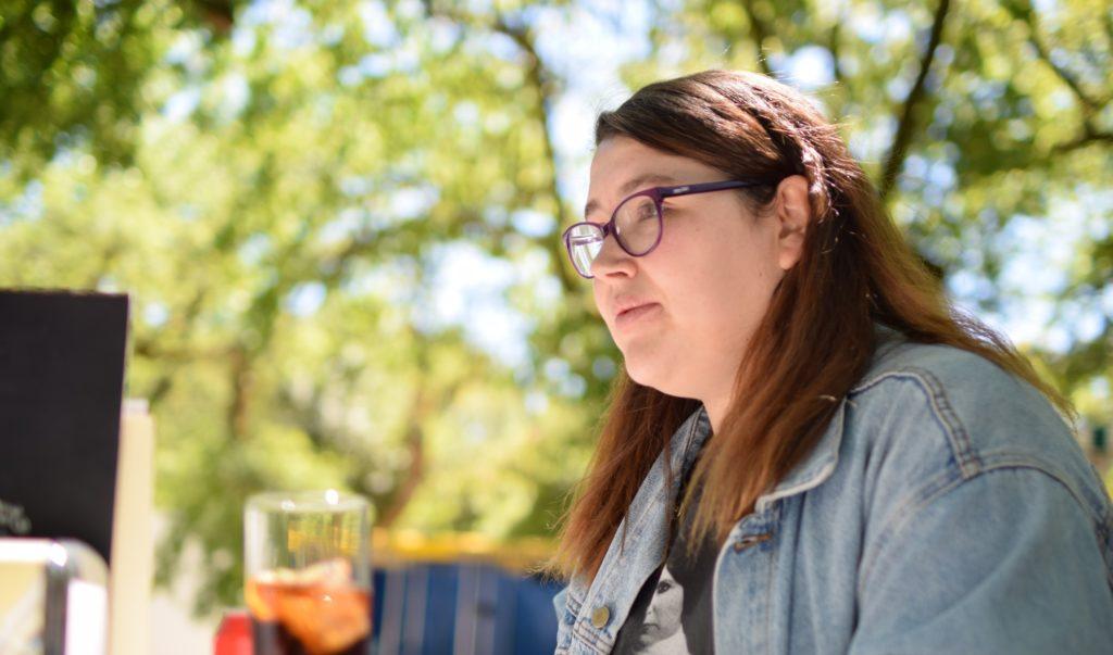 Laura Alvarez, ex alumna.