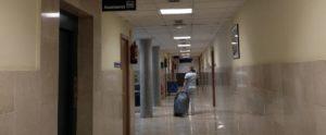 O hospital Álvaro Cunqueiro en Vigo.