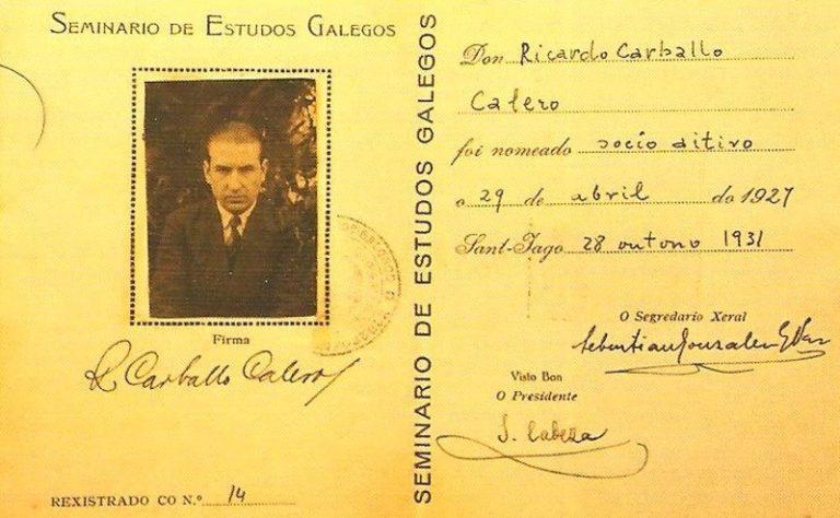 Carvalho Calero.