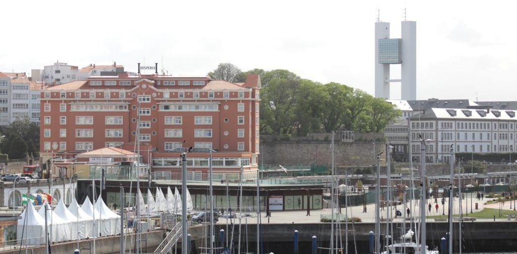 urbanismo, Coruña, Hotel Finisterre, Solana, Porto da Coruña, especulación,