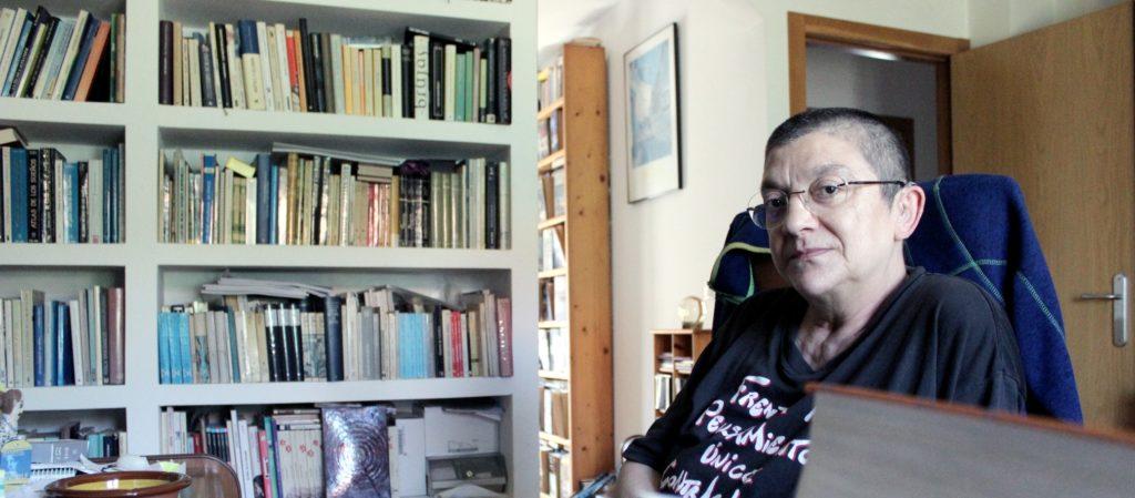 Uxía Casal, autora de 'Saturno tamén é deus' (Urco)