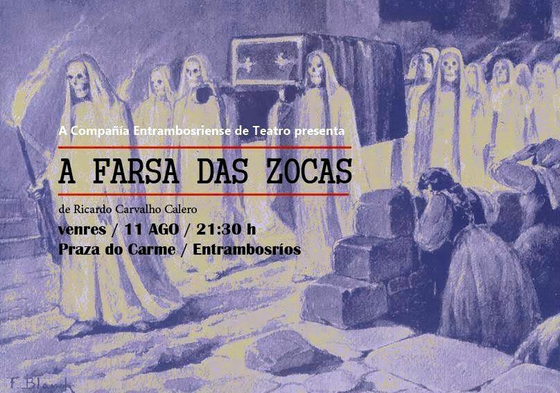 Carvalho Calero, teatro, Rabuñal, zocas