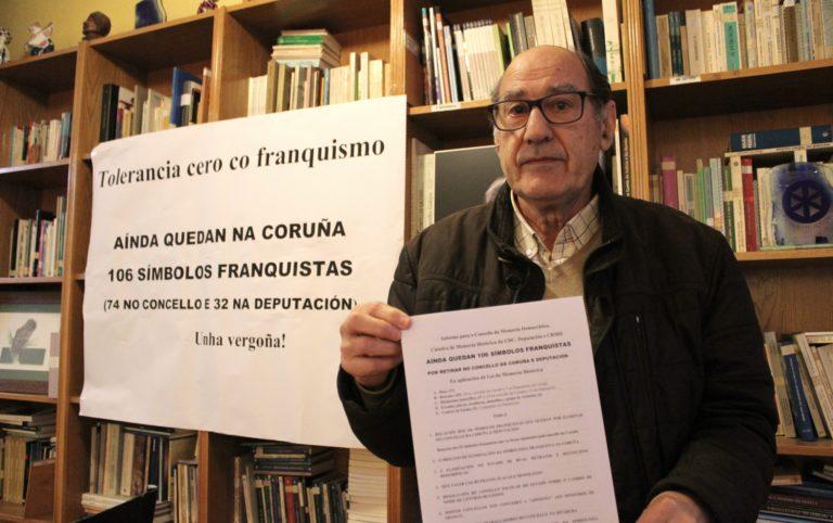 memoria histórica, Coruña, franquismo