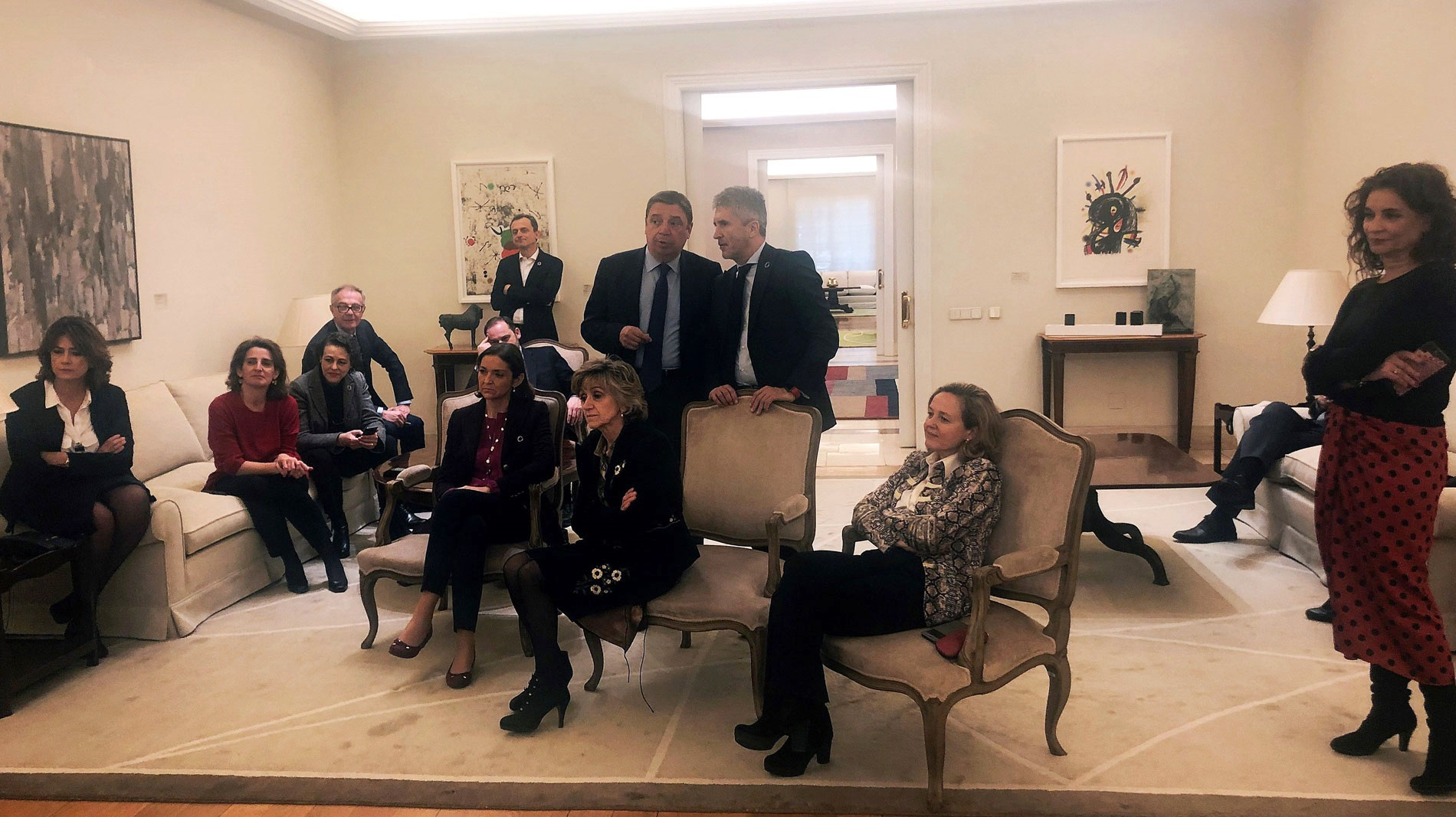 Moncloa, ministros, PSOE
